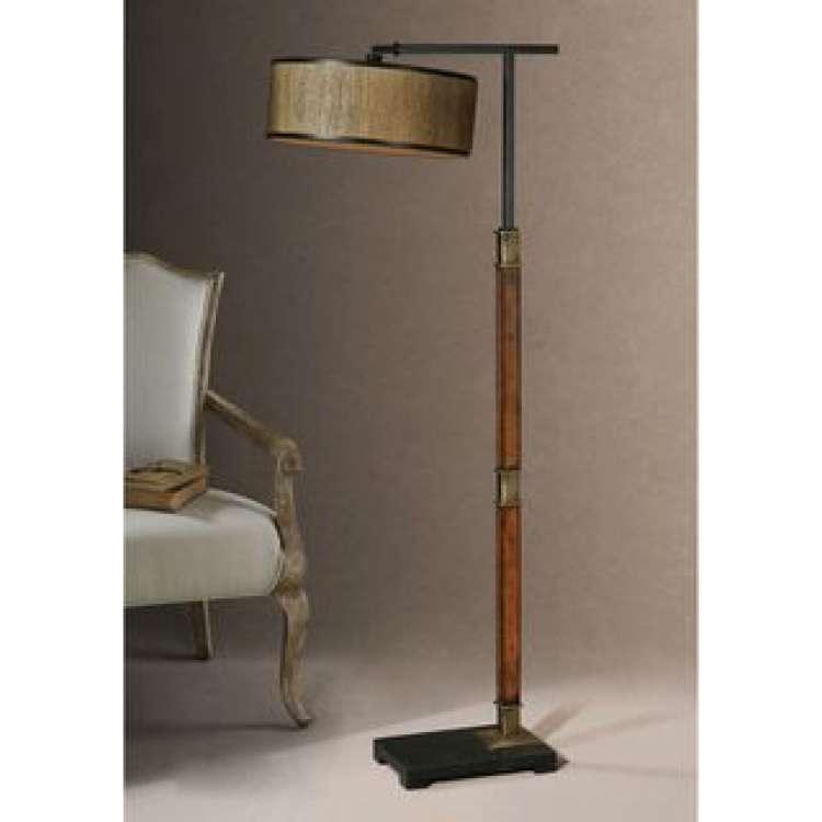 Black Wood Floor Lamp Fresh Allendale Metal Fabric Wood Floor Lamp Things for the Office