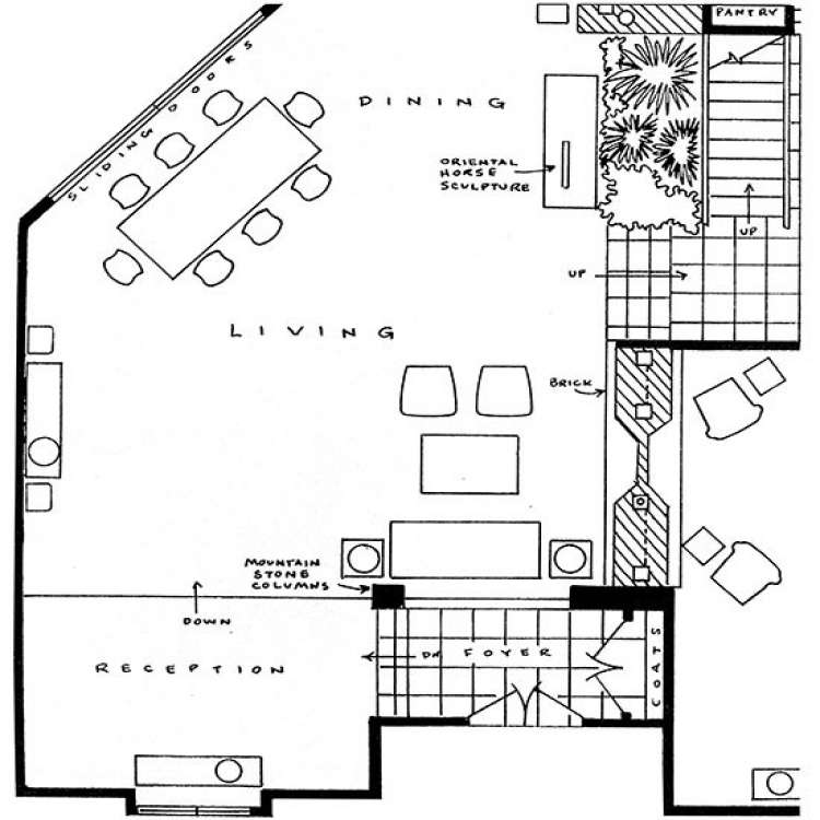 Brady Bunch House Floor Plan Luxury Brady Bunch House Floor Plan Cottage House Plans