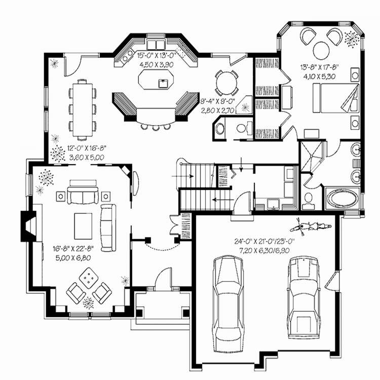 Brady Bunch House Floor Plan Unique 80 Square Meters House Floor Plan Inspirational Brady Bunch House