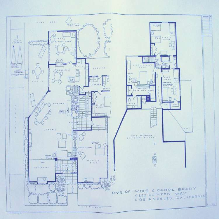 Brady Bunch House Floor Plan Unique the Brady Bunch House Floor Plan Brady Bunch Floor Plan New Brady