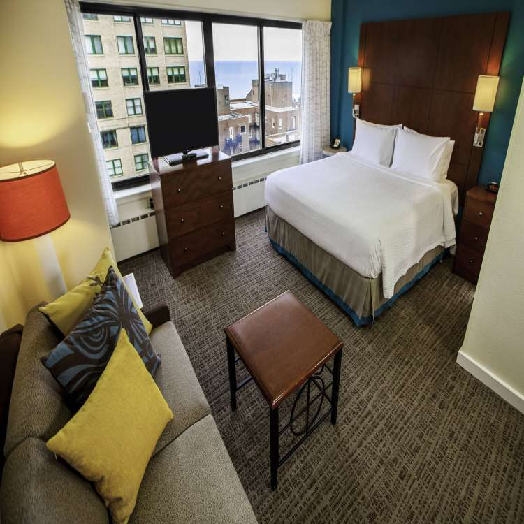 Residence Inn 2 Bedroom Suite Floor Plan Inspirational Chicago Gold Coast Hotels Residence Inn Chicago Downtown